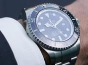 minutes Rolex poignet