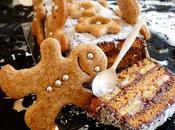 Bûche Noël pain d'épices sans cuisson (vegan, oeuf plv)