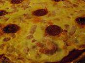 Pizza façon carbonara