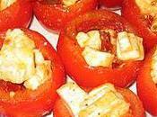 Tomates farcies pavé d'Affinois