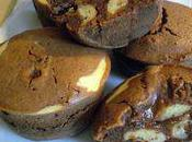 Muffins chocolat façon stracciatella