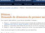pétition pour démission premier ministre Québec