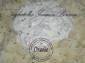 Tagliatelles saumon/boursin