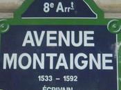 Légion d'honneur L'avenue Montaigne distinguée
