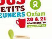 Petits déjeuners Oxfam week-end Charleroi