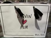 Lanvin Loves H&M; rouge noir