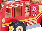 Noel vert :Idée cadeau N°2,camion pompier