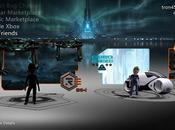 Xbox Live habille avatar couleurs Tron Legacy