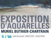 Muriel Buthier-Chartrain expose aquarelles Gaillon