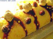 Bûche fruits rouges