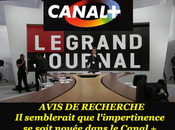 "grand journal"". Canal toujours conformisme bêlant... Afflliction."