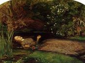 Millais,La Mort d'Ophélie,Tate Gallery, Londr...