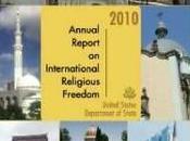 liberté religion dans monde Département d'Etat américain