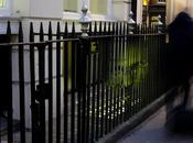 Street grilles Londres