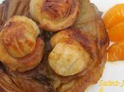 Saint-Jacques l'huile mandarine tatin d'endives