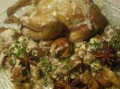 Cailles crème d'épices poivre Séchuan
