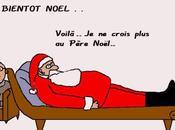 Père Noël dessin circonstance