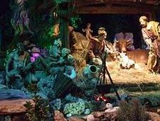 crèches Noël Rome
