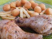 Pilons poulet citron épices, caramélisés sirop d'érable