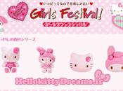 Hello kitty pour l'événement Girls Festival