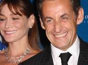 Nicolas Sarkozy/Carla Bruni couple l'année 2010