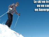 Prenez train pour aller skier Auvergne