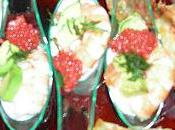 verrines saumon frais