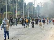Algérie violences urbaines s'intensifient