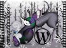 Fond d'écran festif WordPress.com (via Encore blog WordPress)