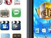 """téléphone tactile 3,6"""" avec GPS, double wifi pour euros port compris"""