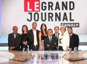 Grand Journal Canal Plus invités soir maillot Nike l'équipe France