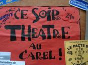 janvier 2011, théâtre soir....