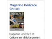 Magazine Dédicace Devenez l'un premiers Sponsors
