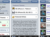 Cydia Mise jour Theme Center