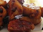 Emincés poulet miel paprika