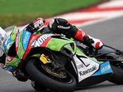 WSBK ...tests Portimao Honda Kawa devant