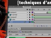 masques: techniques d'animation