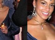 Alicia Keys fête ans, regardez