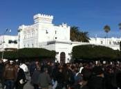 Kasbah/ Tunis: jour après remaniement ministériel janvier 2011, expérience personelle.