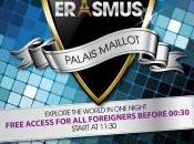 Club Erasmus Soirée étudiante Palais Paris