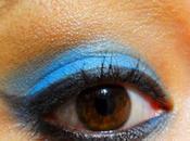 Make-up bleu