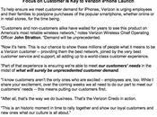 employés Verizon priés acquérir d'iPhone