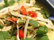 Soupe thaï pour fêter l'année lièvre