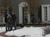 CONTAGION Première photo Matt Damon tournage