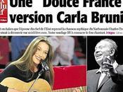 """Carla bruni midi libre exclusive annonce nouveau disque """"douce france"""""""