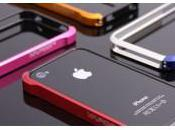 Contour aluminum Element Case Vapor pour Iphone