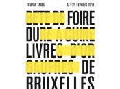 Foire livre Bruxelles pointés samedi février