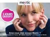 Offre promotionnelle jours gratuits pour découvrir Meetic! Profitez-en!