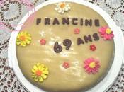 gâteau d'anniversaire pour amie