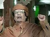 Mouammar Kadhafi promet nettoyer Libye maison